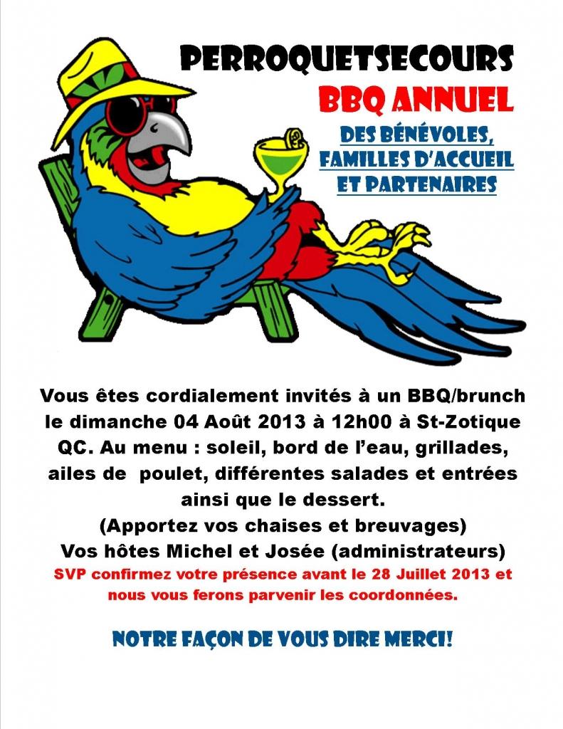 BBQ des bénévoles 2013