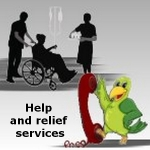 Help and relief services