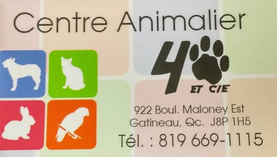 Animalerie 4 pattes Gatineau